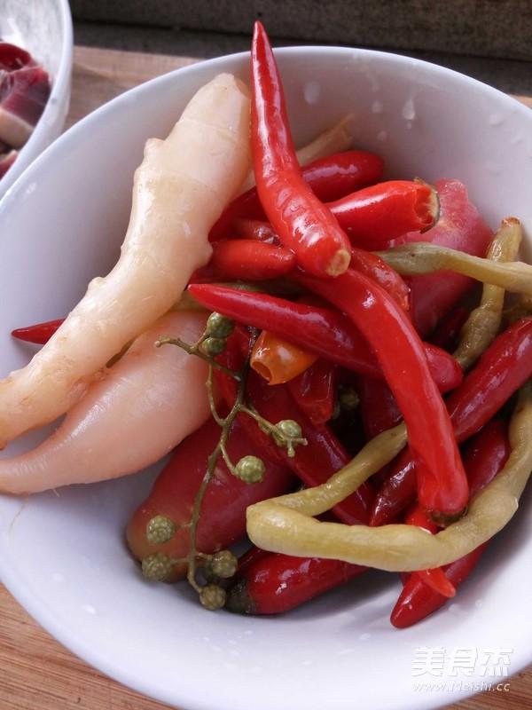泡菜菌肝的做法