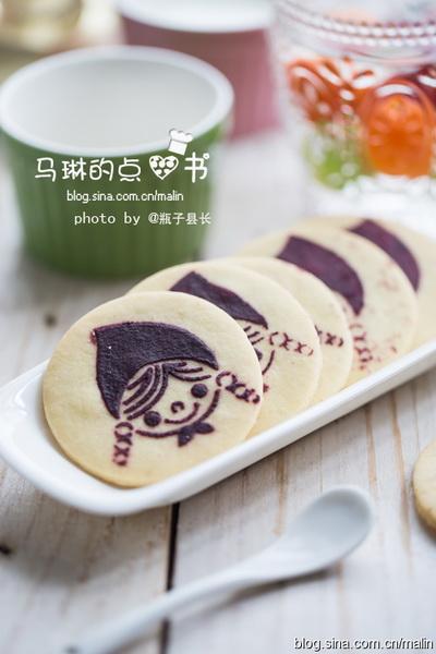 <a href=/shicai/shucai/ZiShu/index.html target=_blank><u>紫薯</u></a>小女孩饼干的做法