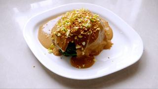 麻汁<a href=/shicai/shucai/BoCai/index.html target=_blank><u>菠菜</u></a>