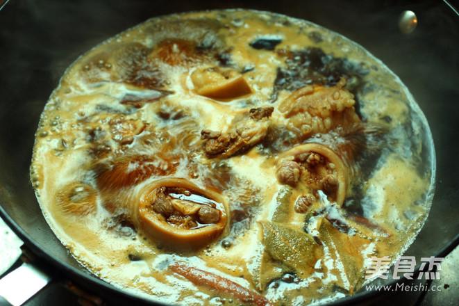 香辣红烧最好的做法牛尾怎么做生姜吃图片
