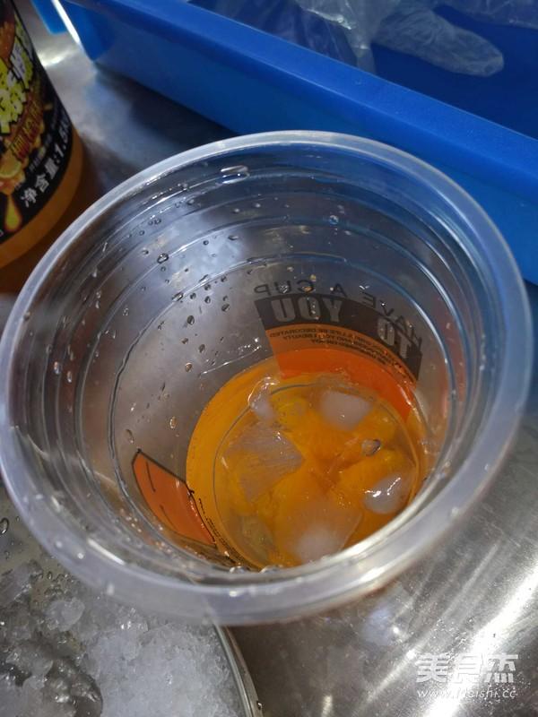 蜜橘甜橙沐冰的做法