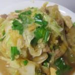 蒜香白菜豆腐
