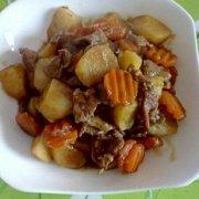 肉炖山药胡萝卜的做法