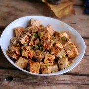素版麻婆豆腐的做法