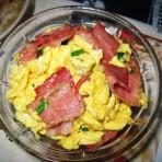 培根炒鸡蛋