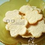 椰丝花花饼干