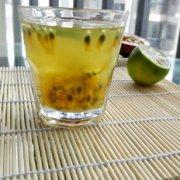 百香果柠檬蜂蜜茶的做法