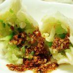 萝卜虾皮鸡蛋水饺