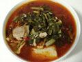 梅花肉炖小白菜冻豆腐的做法