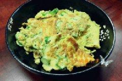 秋葵煎鸡蛋的家常做法