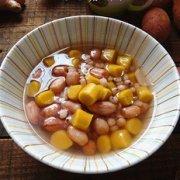 花生薏米薯圆糖水的做法