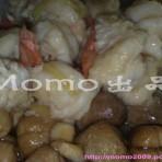 草菇虾球的做法
