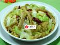 牛肚炒圆白菜的做法
