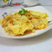 荸荠煎蛋的做法