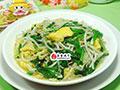 韭菜鸡蛋炒绿豆芽的做法