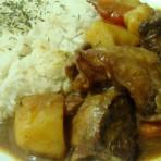 咖哩牛腩香米饭的做法.