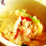 蟹肉豆腐煲的做法