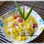 奶香菠萝饭的做法