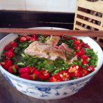 田园韭菜鸡的做法