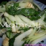 蒜茸小白菜