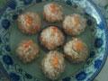 虾肉珍珠丸子的做法