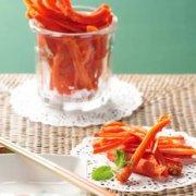健康胡萝卜棒的做法