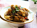 柴鸡炖蘑菇的做法