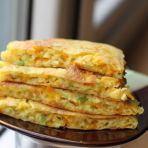 南瓜鸡蛋煎饼的做法