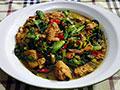 家常小白菜炖豆腐的做法