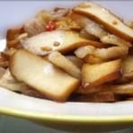 剁椒香干回锅肉的做法