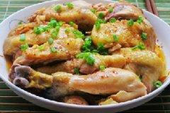 清新肉菜【葱油鸡】的家常做法