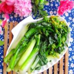 蚝油白菜心的做法