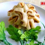 蚝油椒盐菊花卷的做法