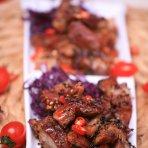 烤羊脆骨肉的做法