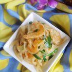 虾米炒白萝卜丝的做法