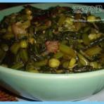 雪菜青豆的做法