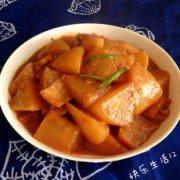 酱烧萝卜的做法
