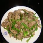 香菜梗炒肚丝