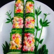 竹报平安——创意水果沙拉的做法