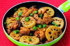 春节年夜饭:干锅莲藕鸡的家常做法