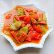西红柿炒丝瓜的做法