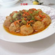 酸辣椒蒸肉丸的做法