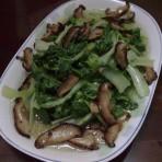 香菇白菜的做法