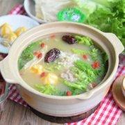 糙米粥火锅的做法