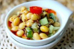 泡菜黄豆的做法
