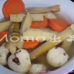 竹蔗红萝卜马蹄水的做法