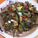 眉豆煮海虹