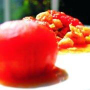 虾仁炒蛋番茄盅的做法