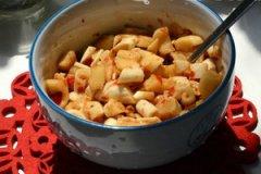 辣酱拌萝卜干的家常做法