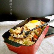 香菇鸡肉饭烤箱版的做法